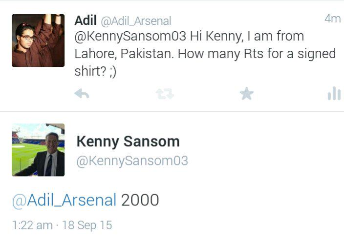 2000 RTs for a signed shirt from @KennySansom03. RT the link below.   https://t.co/06XXCKOxOu http://t.co/MKA9xgrDnP