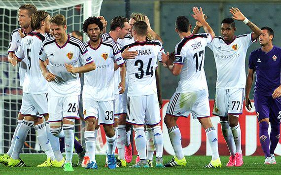 Fiorentina-Basilea 1-2 Video: risultato deciso dall'espulsione di Gonzalo Rodriguez.