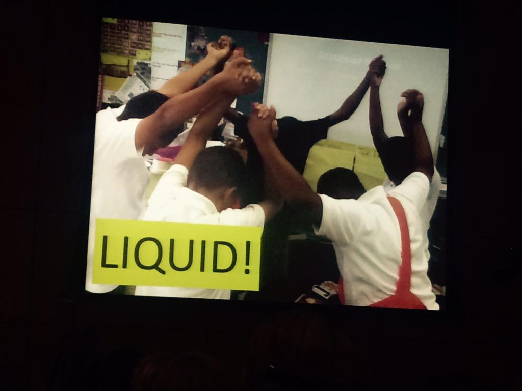 Chemistry unites: yesterday's playground combatants, today's flowing ensemble -Hardiman #DASER #sciart http://t.co/Xpv6QyvBQU