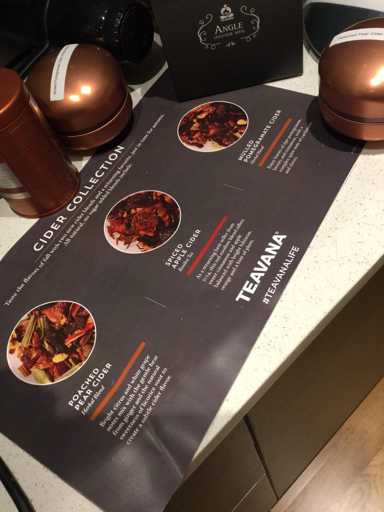 For my followers- I am trying these 3 flavors from @TEAVANA / follow along via #TeavanaLife http://t.co/IwUgVa6bBx