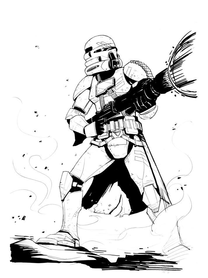 Jim zub on twitter a 501st legion squad official star - Coloriage clone star wars ...