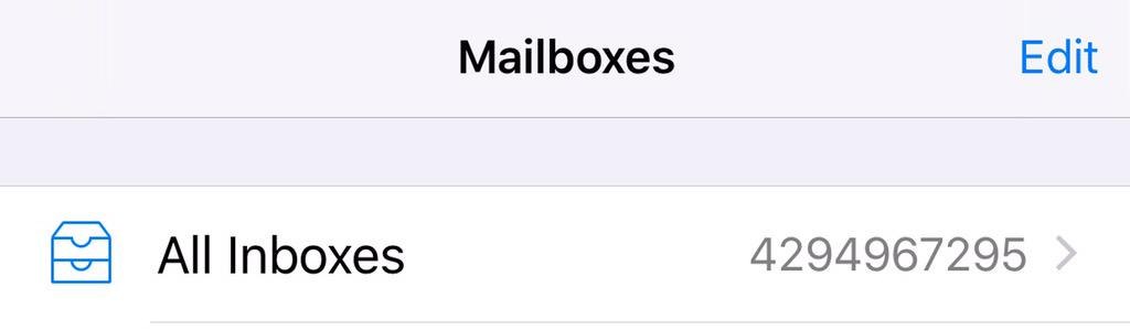 Thanks @APPLEOFFIClAL and iOS 9 for the 4.3 billion in unread emails. I had no idea I was that far behind. #iOS9 http://t.co/HFxliBQKiB