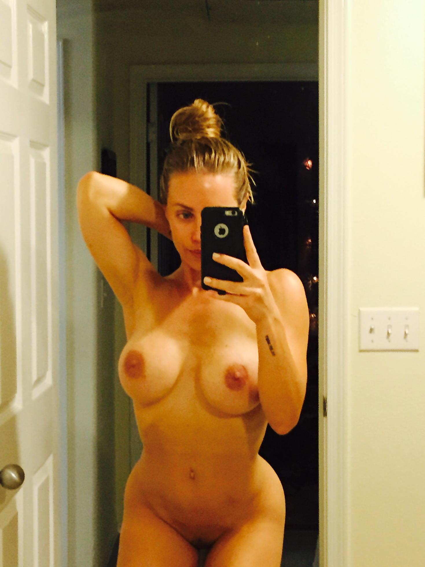 Naked lady selfie, redhead tenny assfucked
