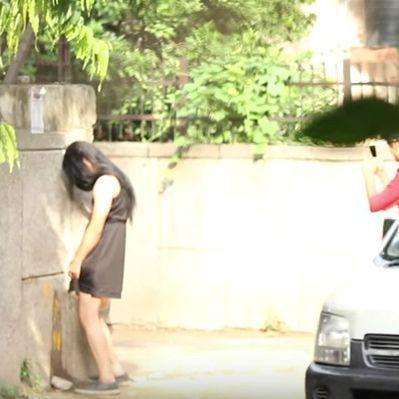 Indian Women Peeing