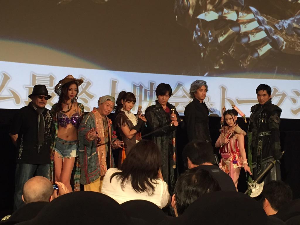 牙狼GOLDSTORM翔の最終話上映会‼️ #garo http://t.co/etoMHxqaKQ