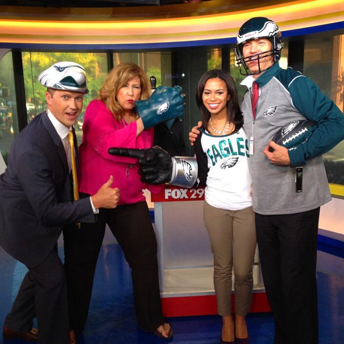 alex holley on twitter here at fox29philly we are ready for the eagles game are you. Black Bedroom Furniture Sets. Home Design Ideas