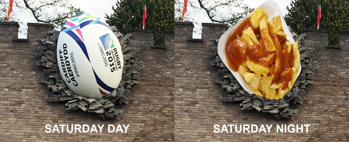 Can't wait to see the #ballinthewall 's final form on the weekend <3 #cardiff @ilovesthediff http://t.co/wcwqJtUn7I