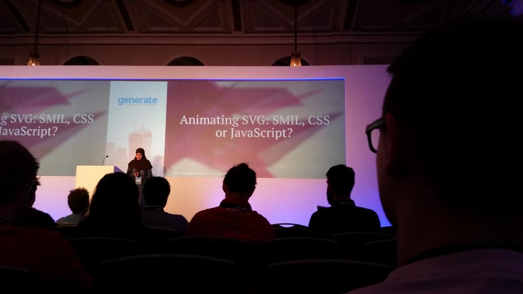 Exciting start to the 2nd day of #generateconf @SaraSoueidan & @AndiSmith http://t.co/cxMi1gn75h