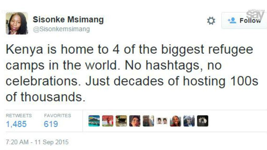 On #migrantcrisis #refugeecrisis: many people making the same point as @Sisonkemsimang. What's your take? #KOT http://t.co/MP6soDDuIP