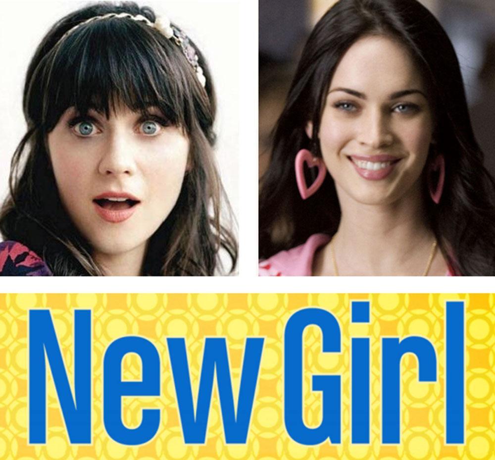 Megan Fox al posto di Zooey Deschanel in New Girl Serie TV.