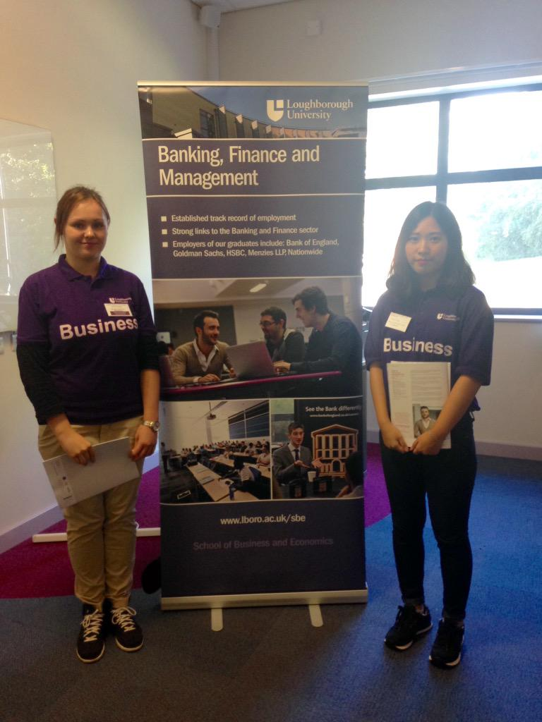 Loughborough Uni Sbe On Twitter Banking Finance And Management