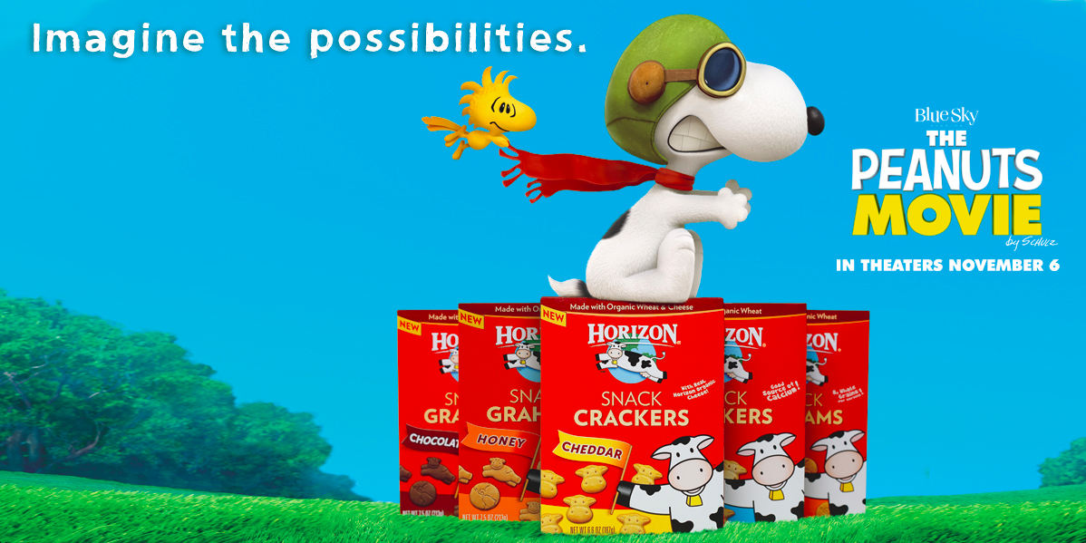 Fuel your next adventure with #HorizonSnacks and #DreamBig with the @PeanutsMovie! http://t.co/SUB2bYNVDG