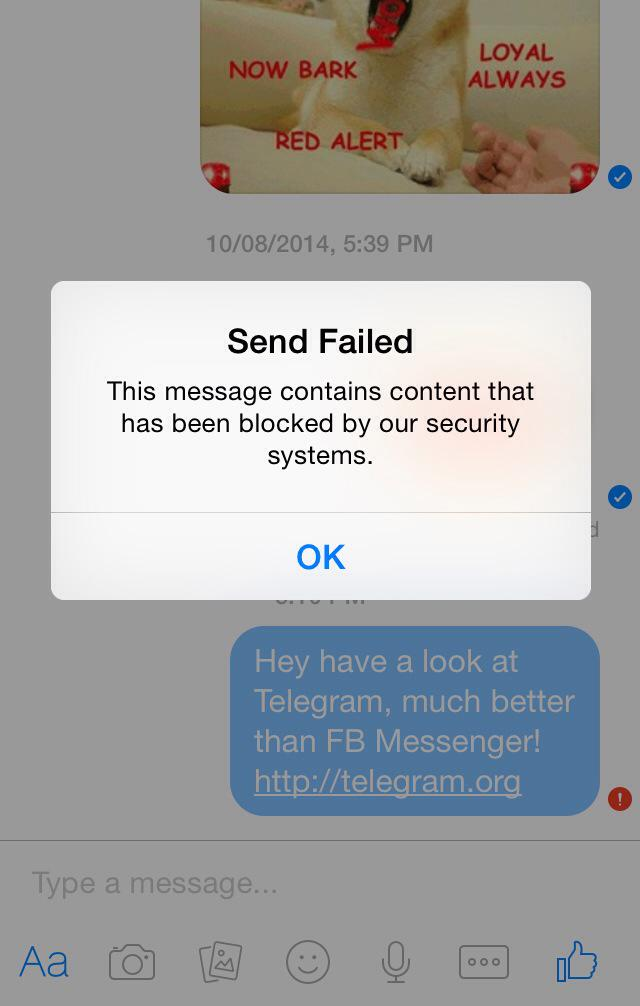 how to send attachment in facebook messenger