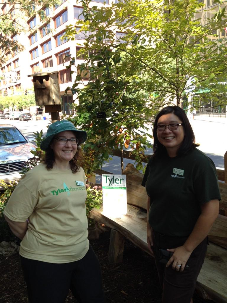 Having fun at #parkingdayphilly with cool friends. Come say hi. We're at 330 Market. http://t.co/fxB27VdV2s