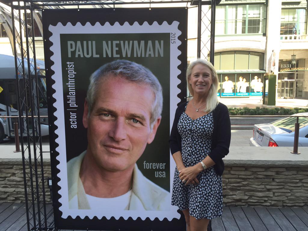 SeriousFun On Twitter A Proud Clea Newman With The Stamp