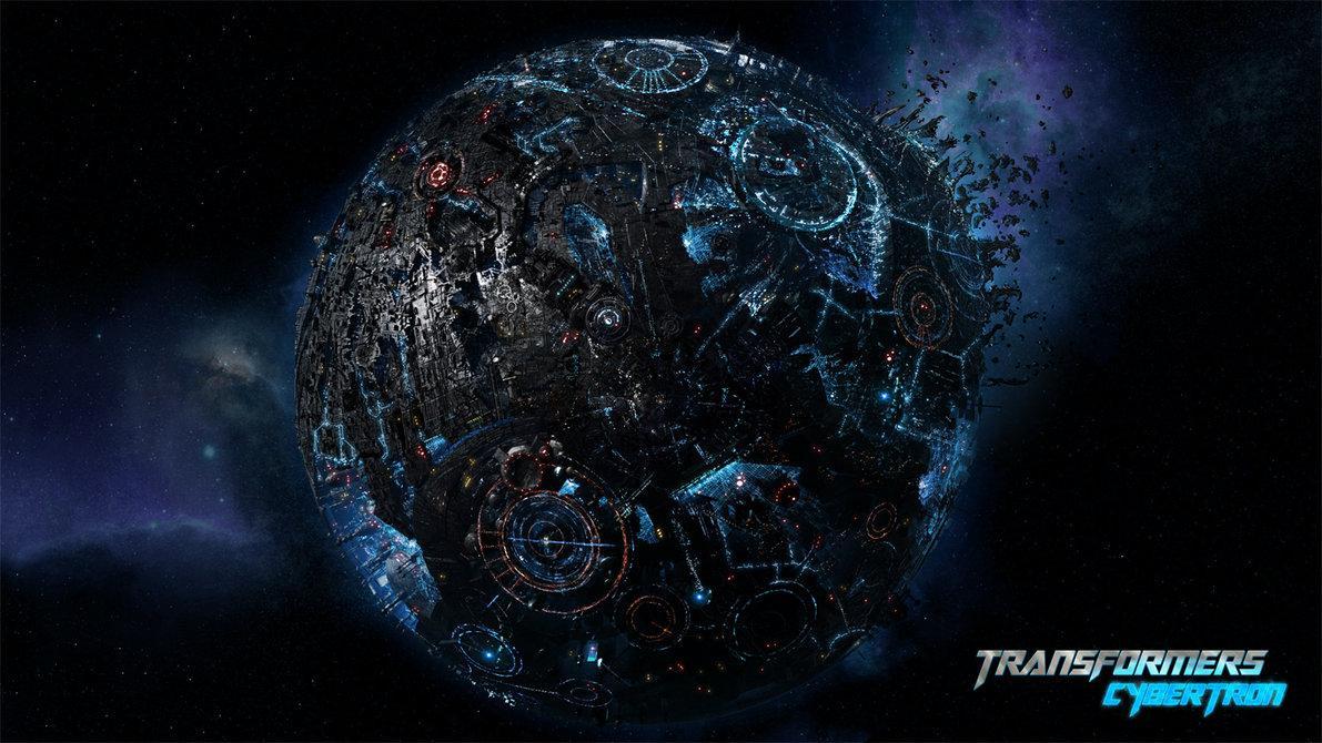 Cybertron, il pianeta natale dei Transformers.