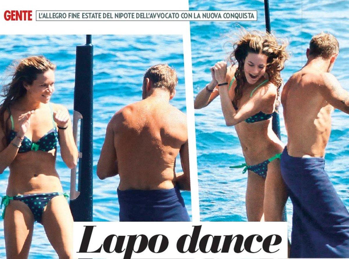 Gossip: Lapo Elkann e Marina Penate sullo yacht a Portofino.