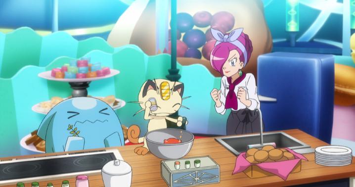 Výsledek obrázku pro pokémon anime cooking