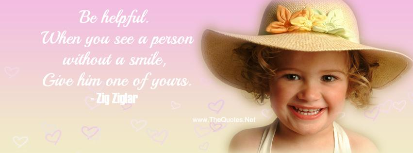 Be helpful. When you see a person without a smile give him one of yours.-Zig Ziglar https://t.co/AxCnljA5Sx https://t.co/GCGR6GXwop #quotes