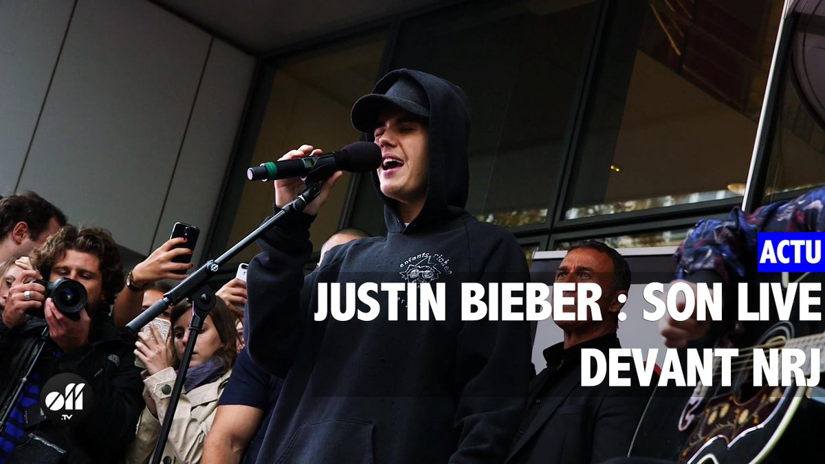 .@justinbieber : la vidéo de son live devant @NRJhitmusiconly à Paris http://t.co/1R95P64Ti2 #beliebers http://t.co/V75NZC2SnT