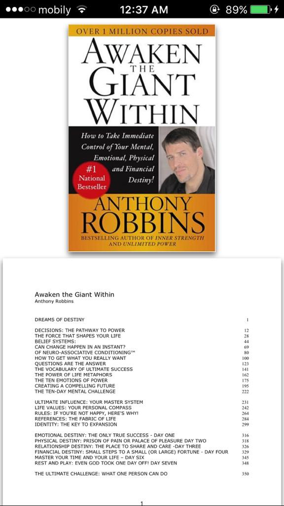 About Anthony Robbins