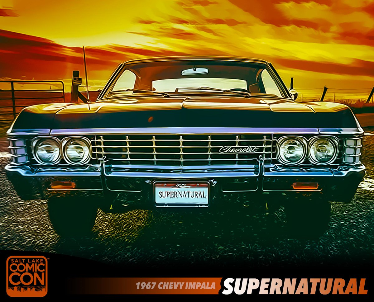 FanX Salt Lake Comic Convention On Twitter Dont Miss Baby - Supernatural show car
