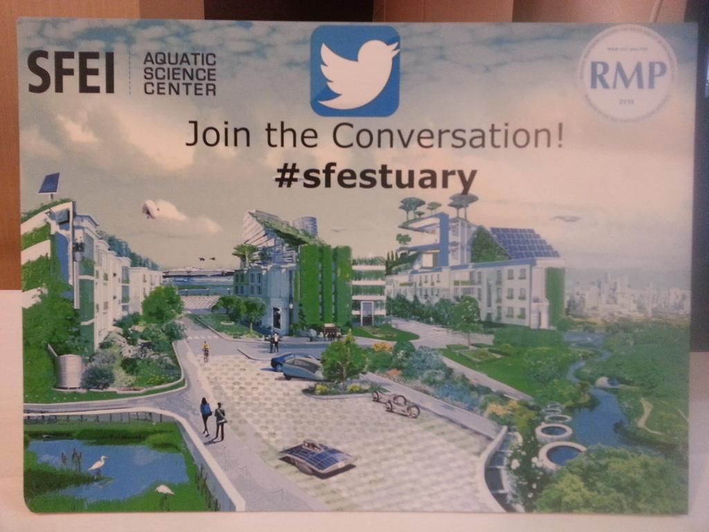 At the State of the Estuary 2015 #sfestuary http://t.co/vkNS4mChZu