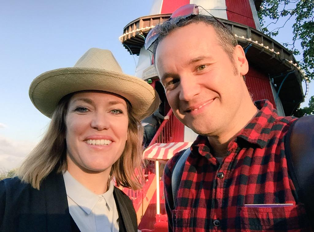 Lovely to meet @cerysmatthews one of the founders of @TheGoodLifeExp http://t.co/hBj17qwDnV