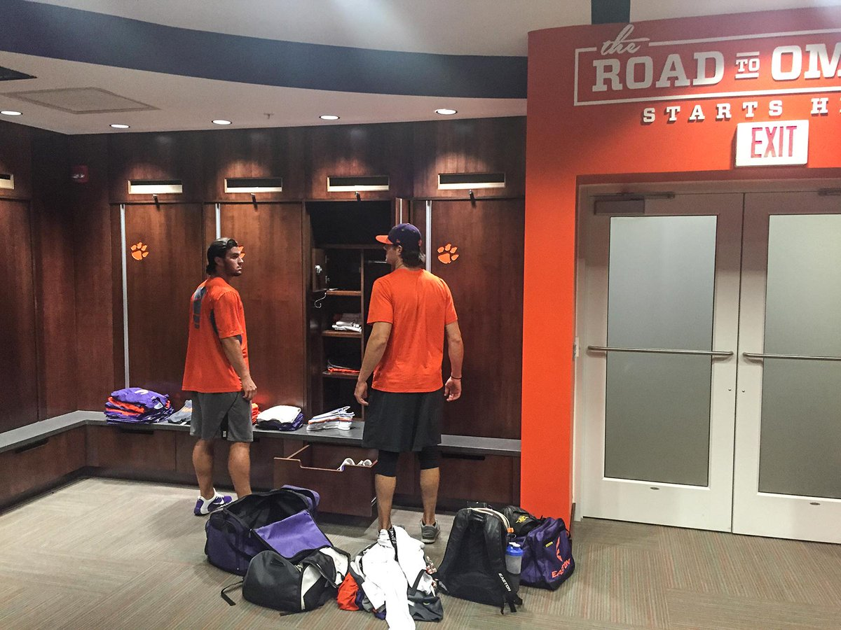 Clemson Baseball On Twitter The Player Move Into New Plush Locker Room Has Begun Tco Rg8ecr1iLc
