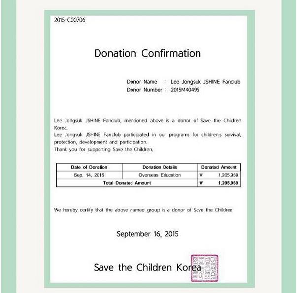 varo on twitter donation certificate frm save z children korea bcz