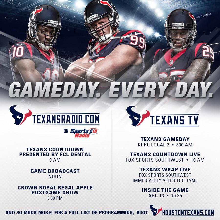 Houston Texans On Twitter Get Texansgameday Coverage On