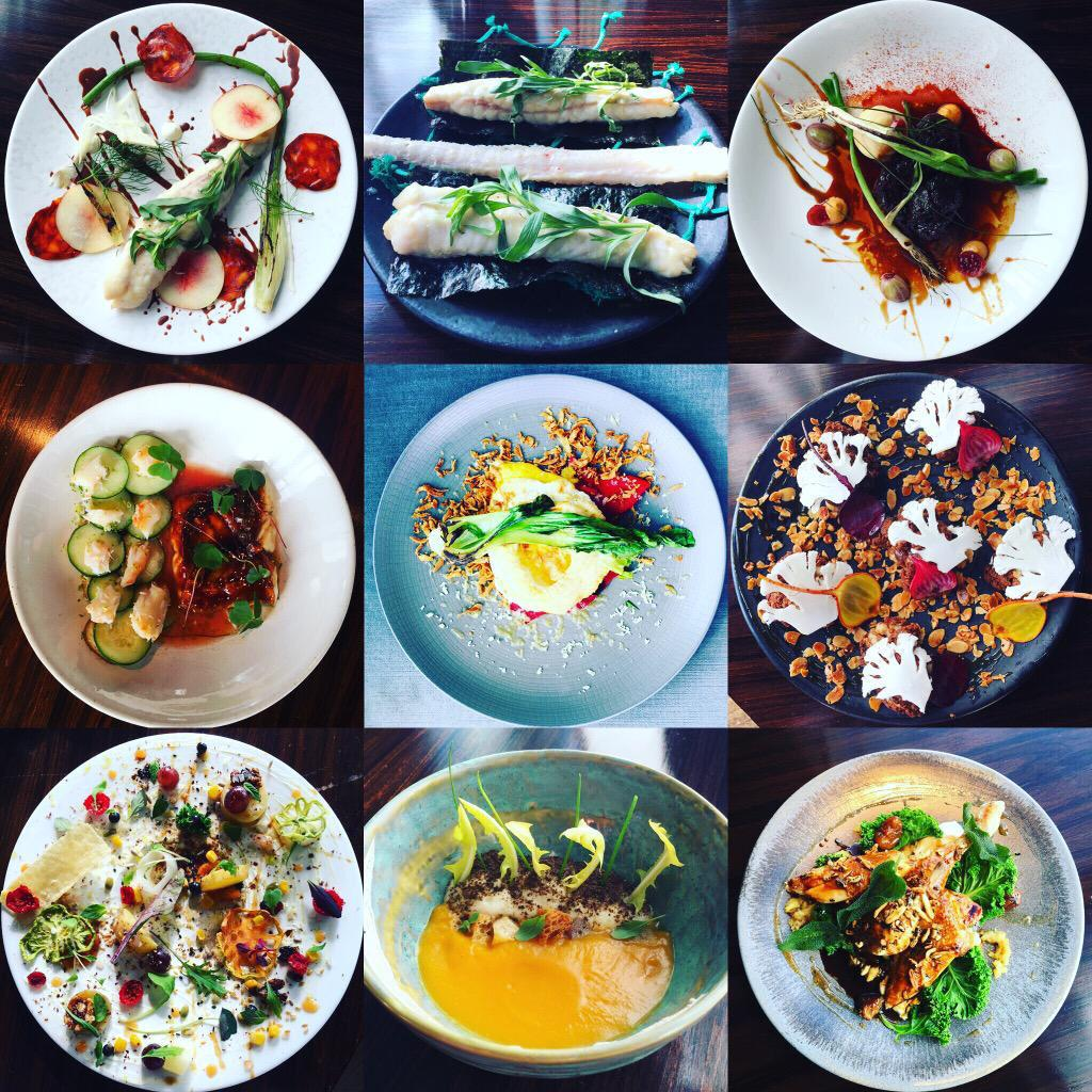 Photoshoot today for menu launch at @Aquashard  Here are the dishes! http://t.co/8J1kuwIffW