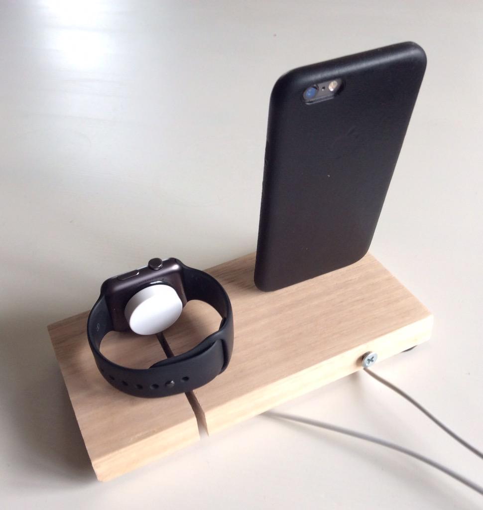 apple watch iphone combo dock