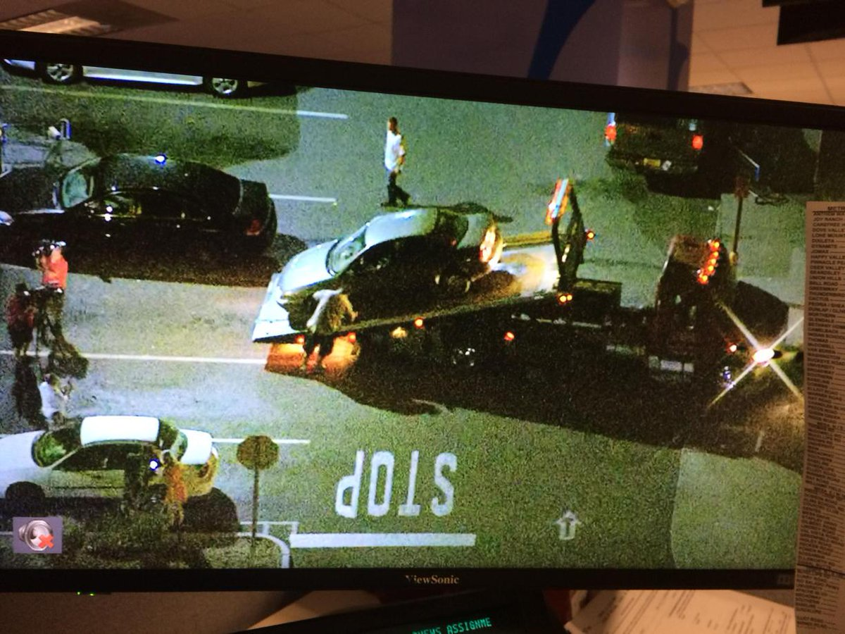 Sky12 over location where DPS arrested suspected #freewayshooter #12news http://t.co/jV9DdxFpxj