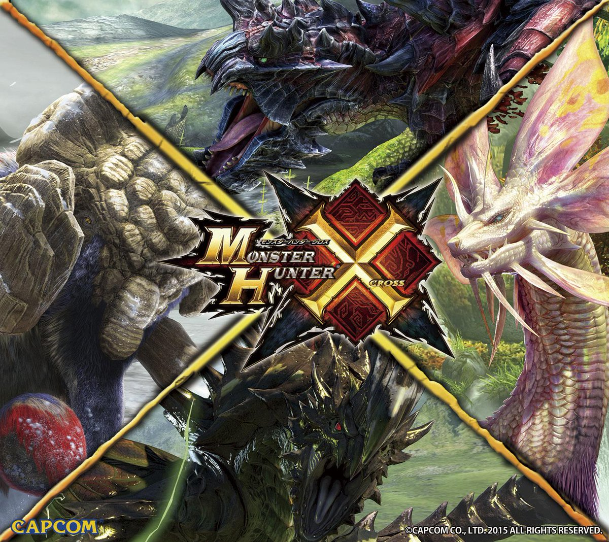 Mhxx Official On Twitter Tgsでモンスターハンタークロスのコーナー
