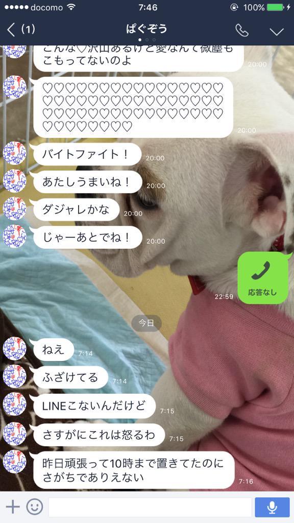 ここまで来てまさかの逆ギレ #ぱぐぞう pic.twitter.com/q3VljG1WfE