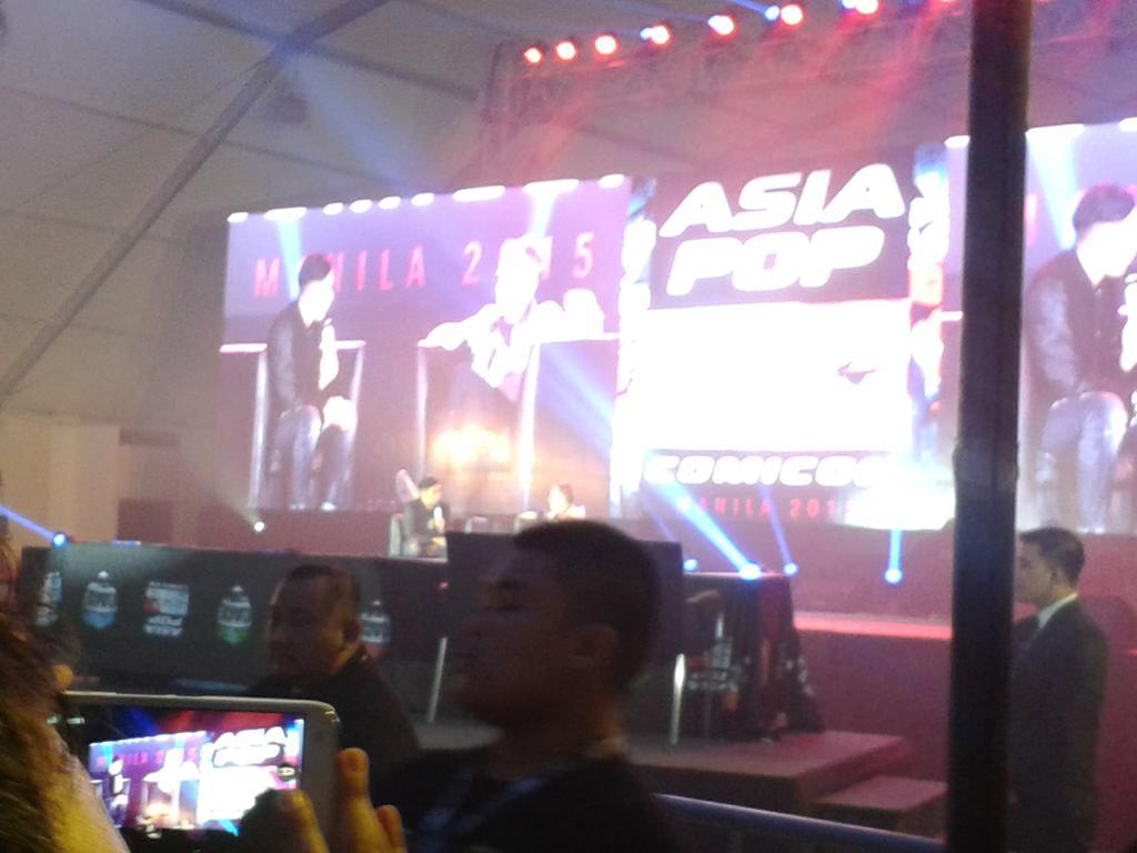 Paul Bettany says he'd love to be Siri. Make it happen, Manila! #PaulBettany #apcc2015 #AsiaPOPComicon http://t.co/Jw6ZbHndjs
