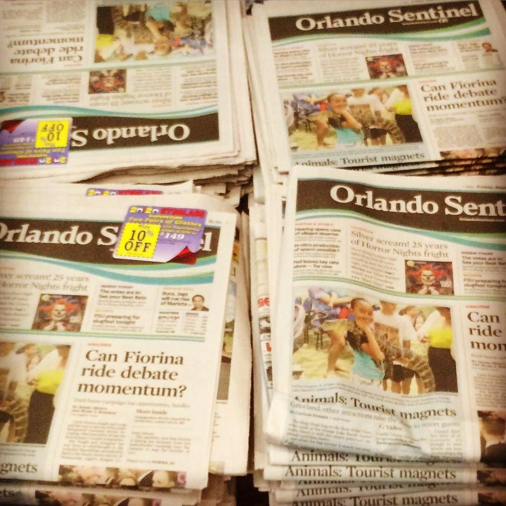 The @orlandosentinel making their presence felt at #eij15. Nice work @xeneizeusa http://t.co/xzNeA9N6Ay http://t.co/shbunG5aCI
