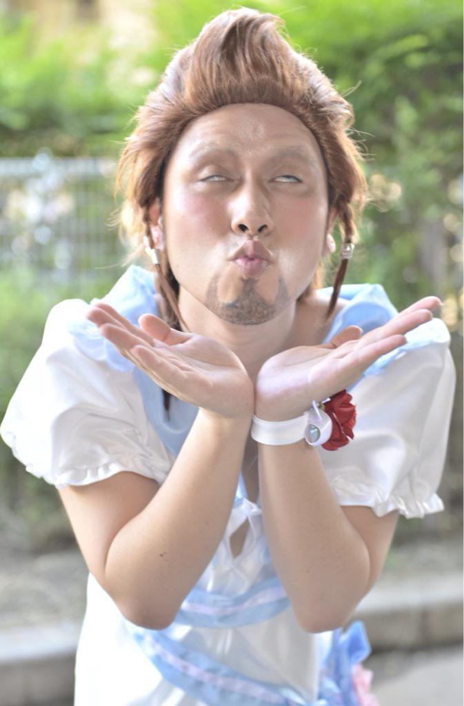 女装ヒルディのコスプレ。 すばらしい完璧! #FF14 http://t.co/Jgtm6yxFMb