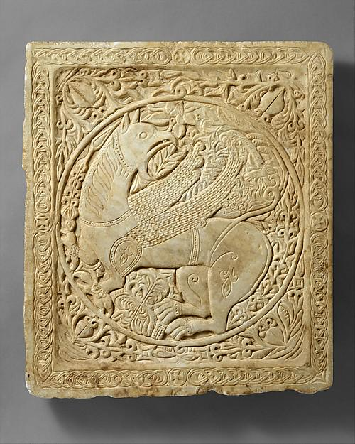 My tweet of the week: a C13th Byzantine griffin, symbol of power and protection @metmuseum http://t.co/h6KbBIhd1D http://t.co/YrCBleAa9i
