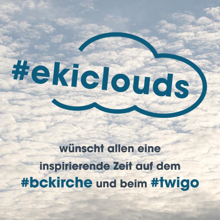 #ekiclouds wünscht allen eine inspirierende zeit auf dem @bckirche  und beim #twigo in #essen #bckirche http://t.co/lQjTv53DlX
