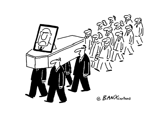 Image result for funeral cartoon image