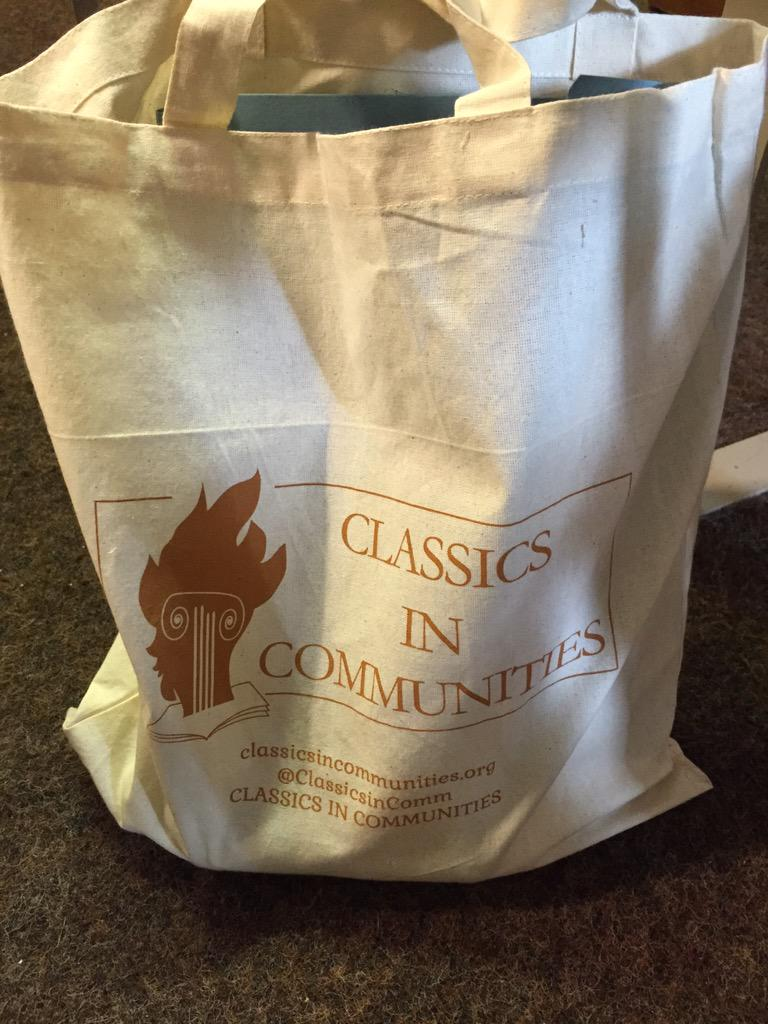 #CiC15 Swag bag. Bringing Latin and Greek back into schools. http://t.co/CEpOOmiuWs