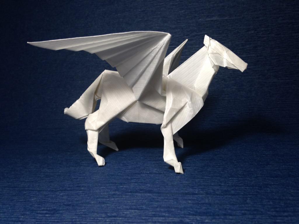 クリスマス 折り紙 折り紙 ペガサス 折り方 簡単 : divulgando.net
