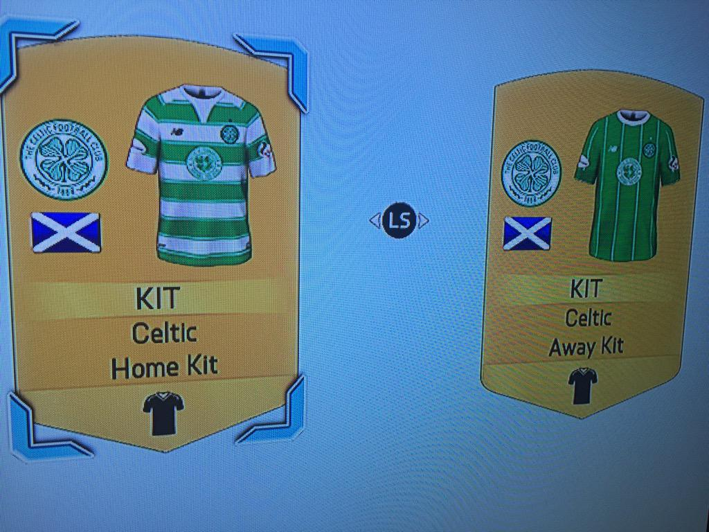 Hadn't realised the @FoundationCFC badge was going to be on the #FIFA16  @celticfc @NBFootball kits. Nice touch! http://t.co/MLfciO4sFq