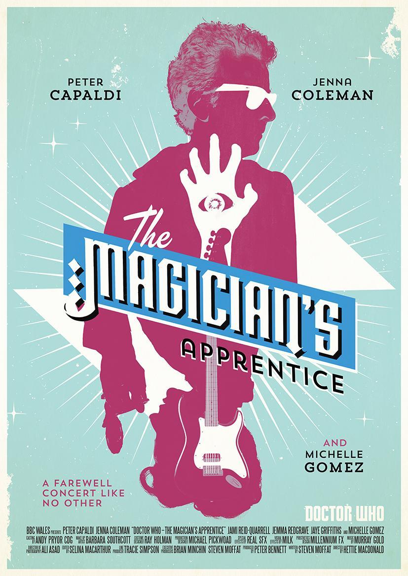 The Magician's Apprentice retro poster