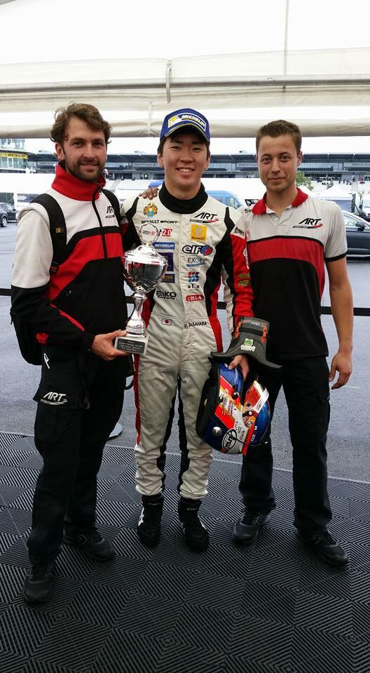 BACK ON TOP STEP OF PODIUM!! Great effort by team!! Thank you! 一番上に戻ってきました!チーム、そして応援してくださった皆様に感謝