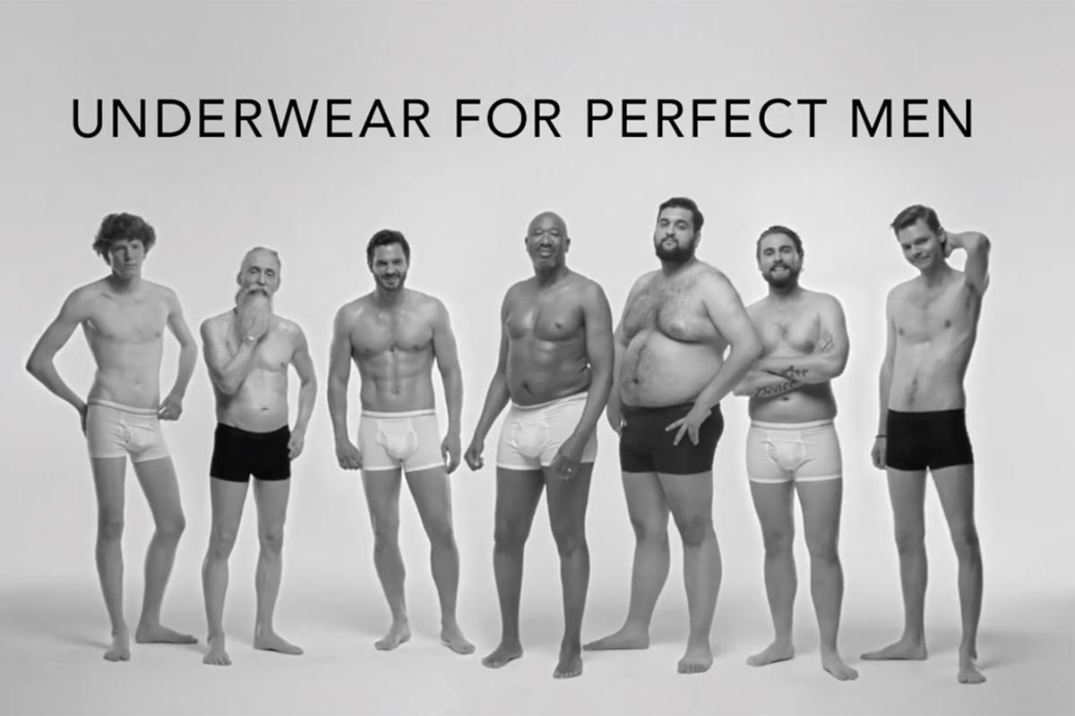 Real men underwear ads excellent, agree