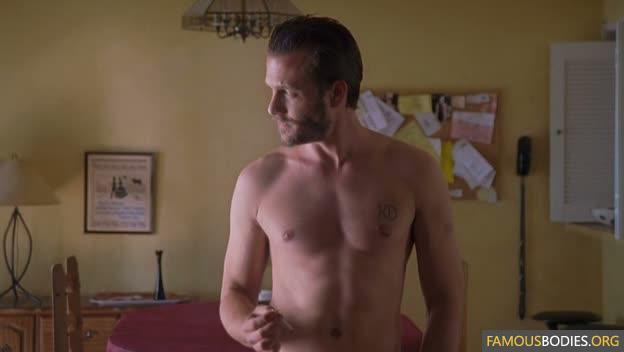Gabriel macht shirtless