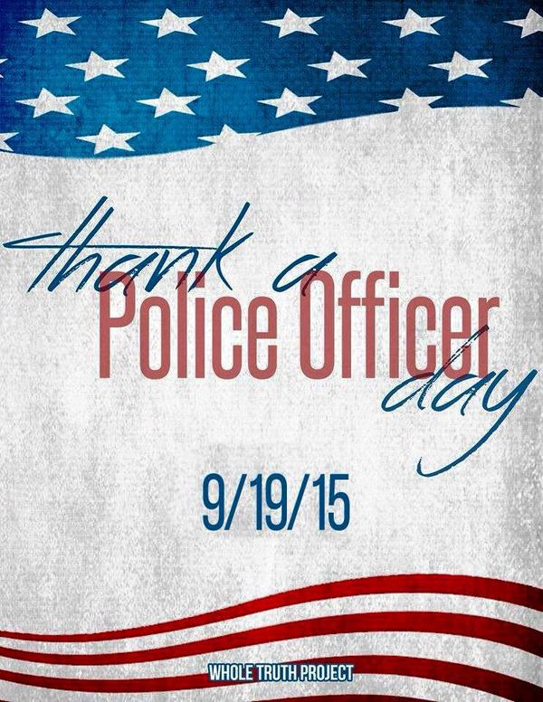 Thank A Police Officer Week Coolhdtoday